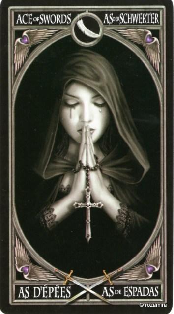 Готическое Таро Анны Стокс /Anne Stokes Gothic Tarot   (скан карт) 2iqyjdi
