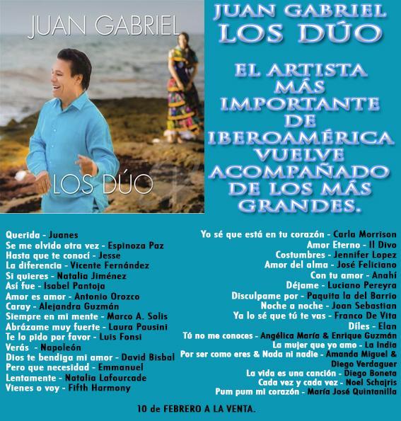 Canción 'Si Quieres' - Natalia Jiménez a dueto con Juan Gabriel 2ith211