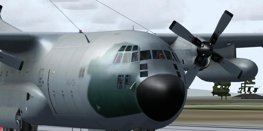 Estréia do meu Captain Sim C-130 da FAB com texturas feitas por mim 2ltt5yv