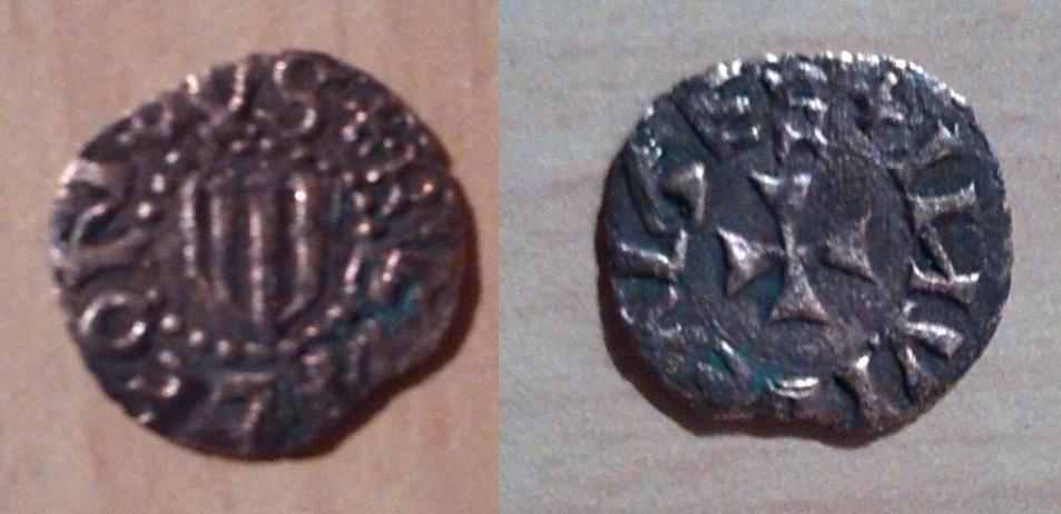 Dinero de Alfonso V (1416-1458) del Alguer 2mwihhx
