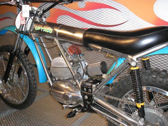 Una Bultaco muy especial: la Optaco 2q9x44p