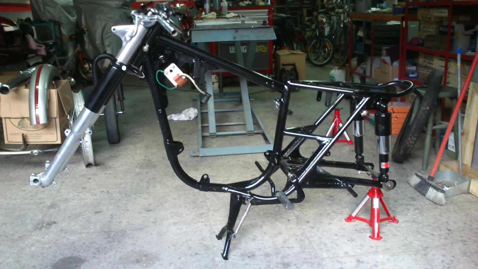 De vuelta a la carretera: Bultaco Tralla 102 2qv6n0k