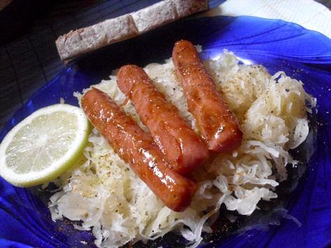 Σουκρούτ-Sauerkraut- με λουκάνικα 2r45que