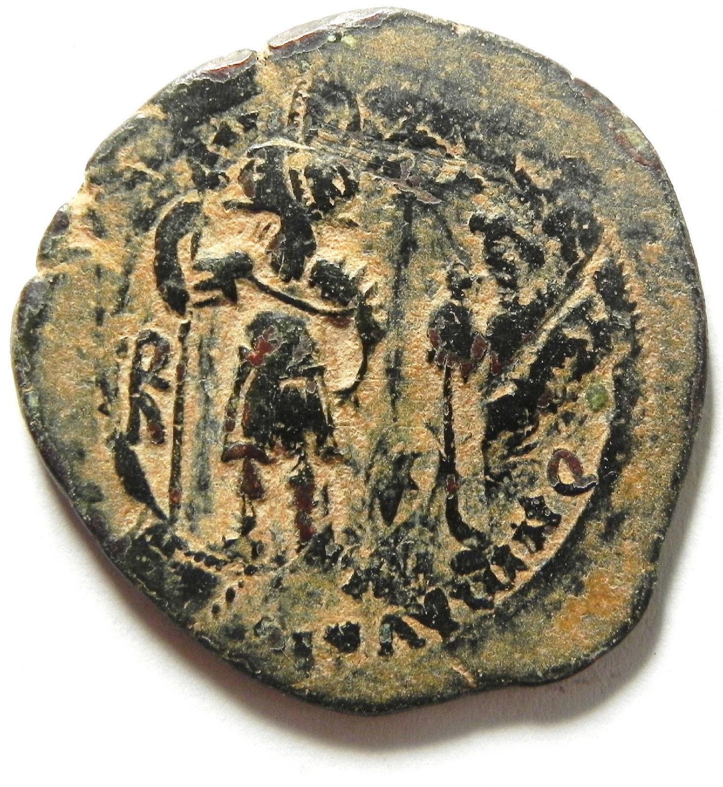 40 Nummi de Heraclio y Heraclio Constantino. Constantinopla 2rgno7o