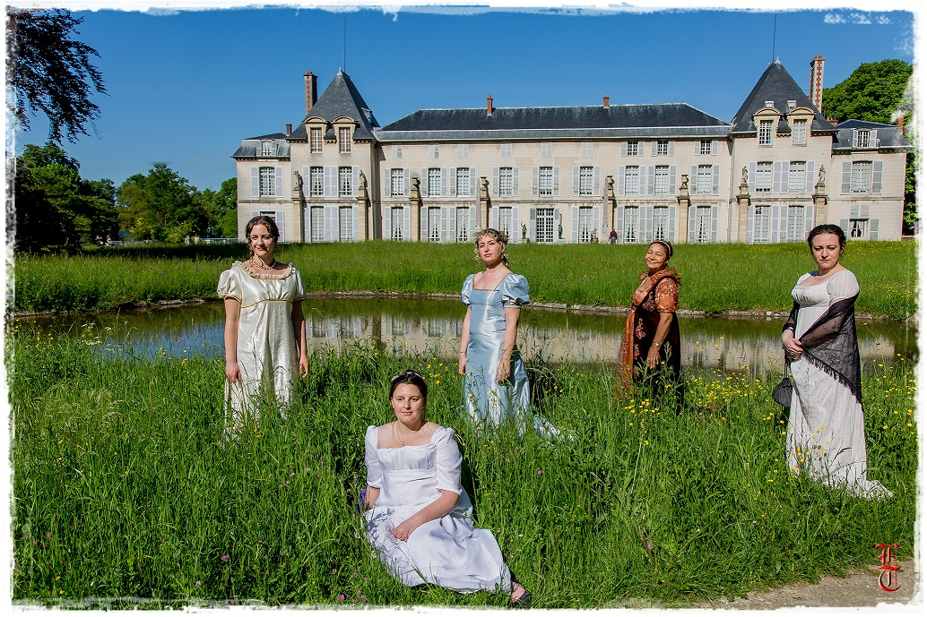 Francia - Castillo de la Malmaison (cerca de París) salida en traje primer imperio 10/05/2015 2rq0she