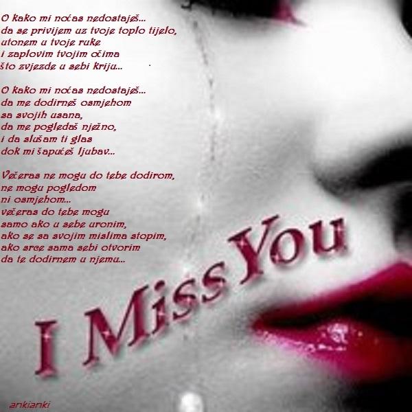 Nedostaješ mi..!  2s796yh