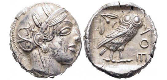 Tetradracma ático. Atenas. 449-413 a.C. 2u555qg