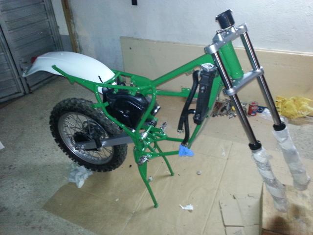 Mi nueva adquisición Rieju MR80 Verde 2uptg92