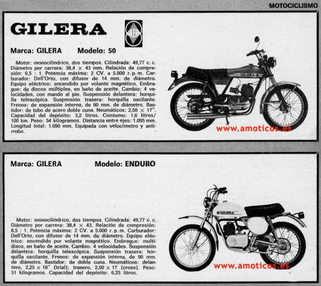 gilera - Gilera Enduro 50 de 1975 2w23ih4