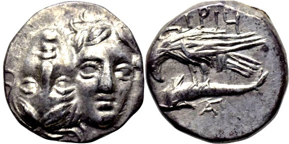 Dracma de plata, Istros-Tracia  2w7r7t1