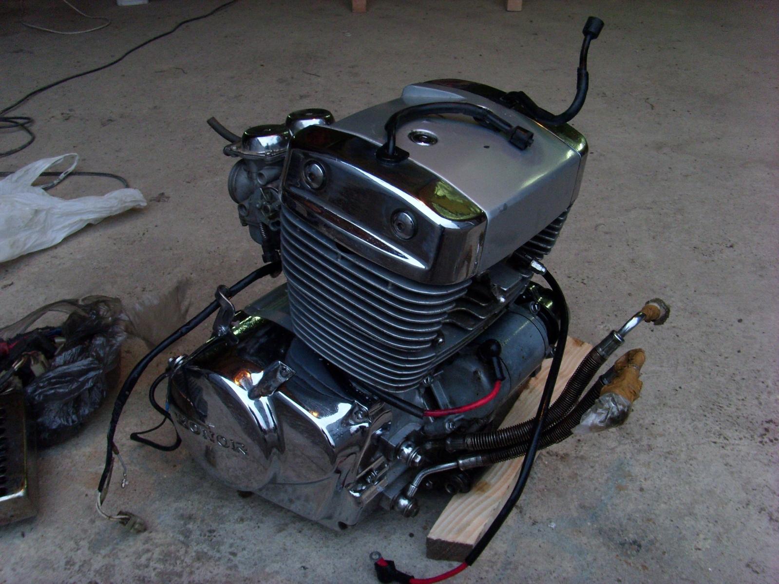 Двигатель двухцилиндровый Honor QJ 250 куб.см 2wrnuc9