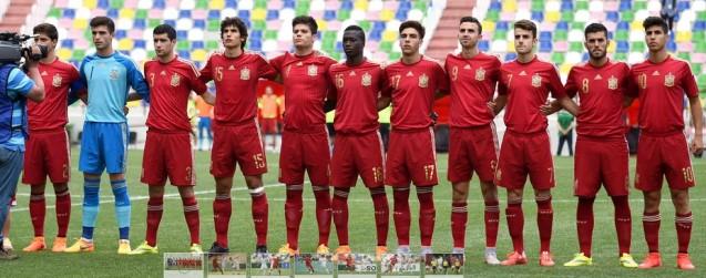 Hilo de la selección de España sub 21 e inferiores 33xix04