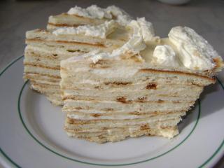 Песочный торт на сковороде с заварным кремом 34e966t