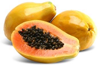 Mamão papaia para clarear as manchas vermelhas da pele 34g0zv6