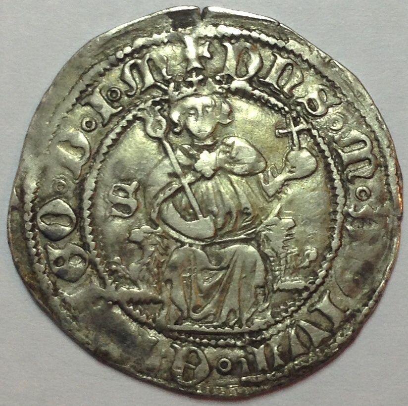 Carlino s/f (c.1442-1458) de Alfonso V de Aragón (I de Nápoles) 34t8r2r