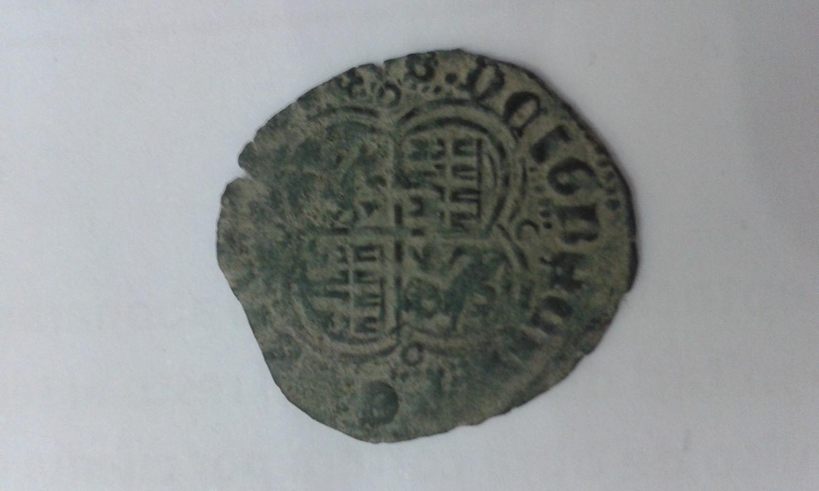 Real de vellon de Enrique II 1369-1379. 34ypl6x