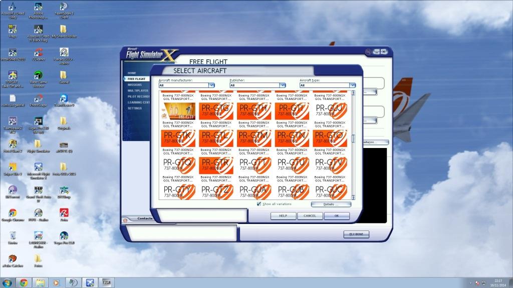 MEGAPACK 737-800 GOL finalizado! 358o37o
