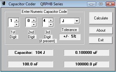 Programinha para decifrar valores de capacitores 35c30ps