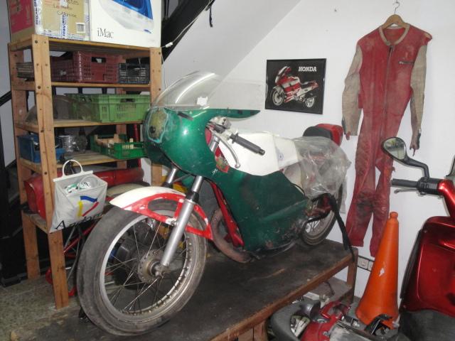 metralla - Reconstrucción Bultaco Metralla ex-Montjuic 5x7kgi
