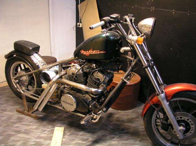 Hardtail Honda 5yvups