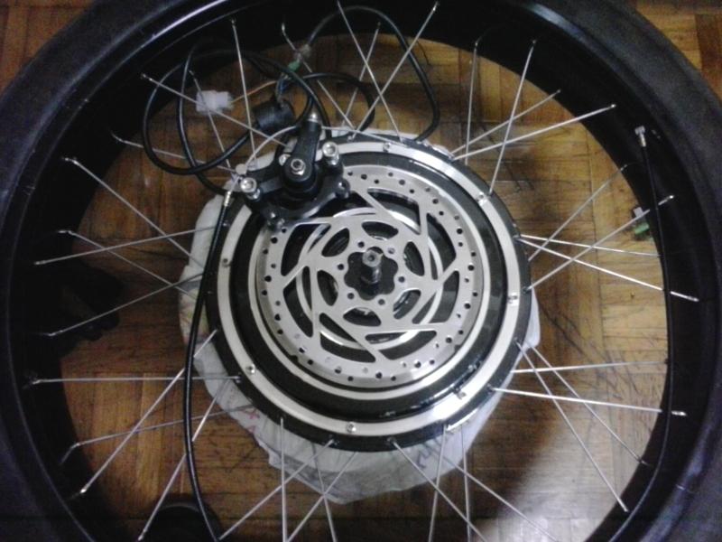 Bicicleta eléctrica a partir de moto Guzzi (+sidecar??) 675o4p