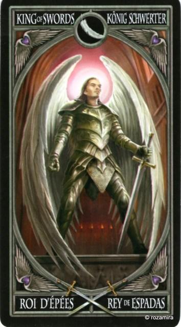 Готическое Таро Анны Стокс /Anne Stokes Gothic Tarot   (скан карт) 6h81l4