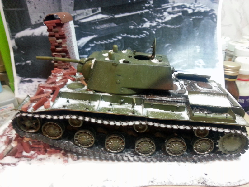 "КВ-1 ""27 ноября 1941 года г. Венев""(Звезда 1/35) 99j94w"