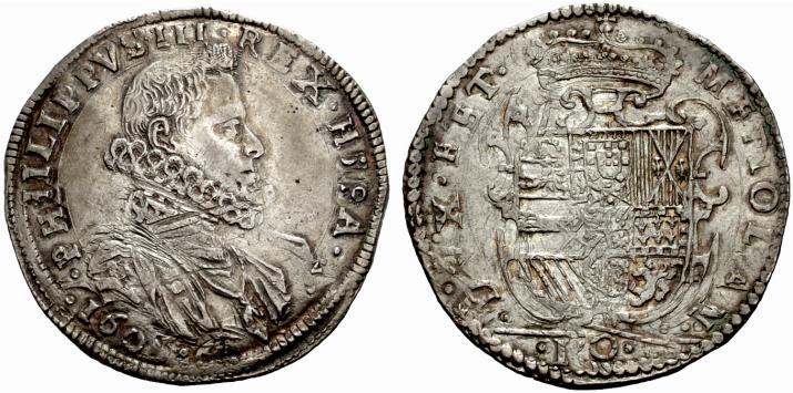 1 Ducatón Felipe III Milán 9ibgwm