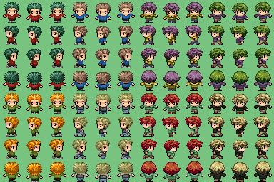 Personajes Faces y Charas niños B5pr9t