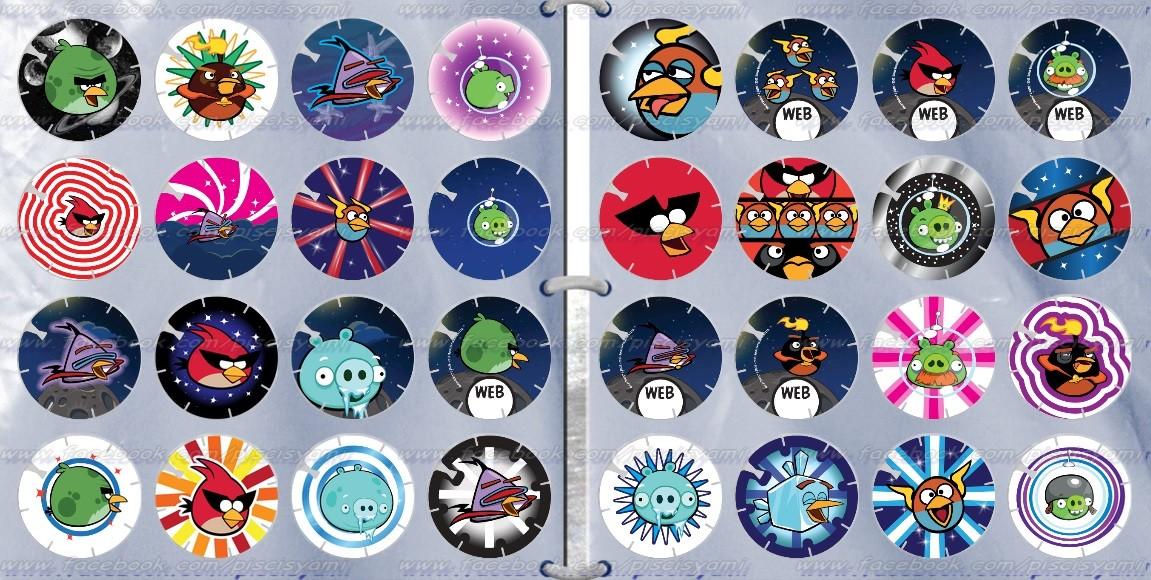 Vuela Tazos de Angry Birds Space B8366c