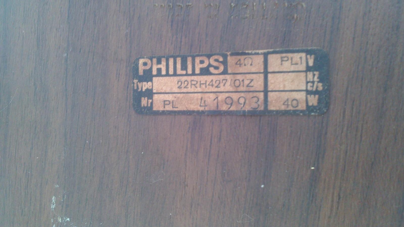 Cajas vintage Philips 22RH427: Filtros actualizados!!  De1p39