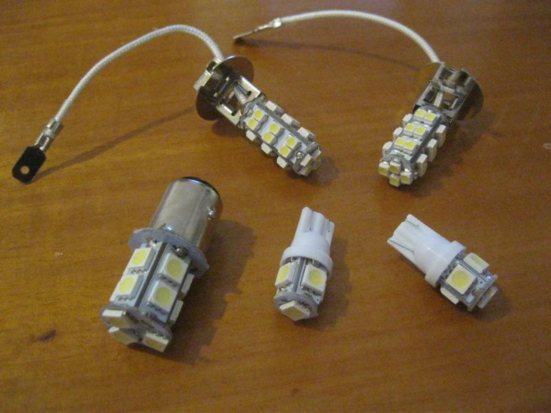τοποθέτηση λάμπες led και βολτόμετρο. συμπεράσματα.  Dfuepx