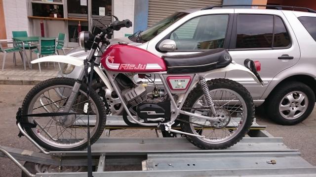Proceso de restauración de Rieju TT 505 Dvofhh