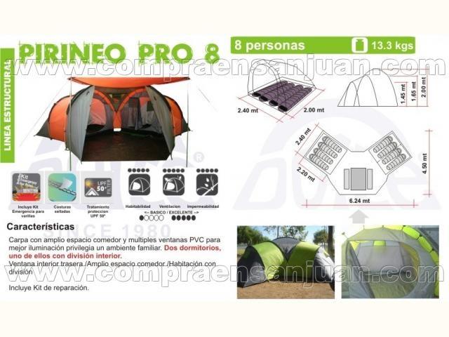 Vendo Carpa Doite Pirineo Pro 8 Eak0o9