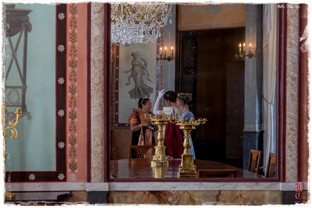 Francia - Castillo de la Malmaison (cerca de París) salida en traje primer imperio 10/05/2015 F2slef