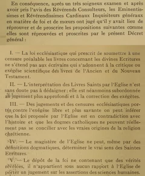 Décret «Lamentabili sane exitu» de Saint Pie X, du  3 juillet 1907 F58tgk