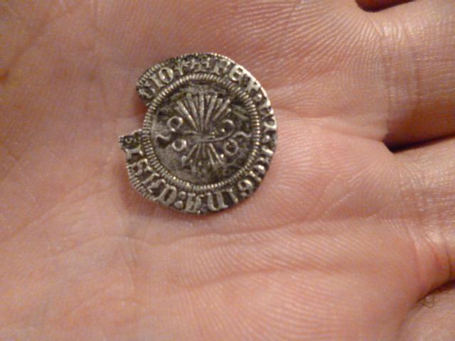 Medio Real a nombre de los Reyes Católicos Hvs46h