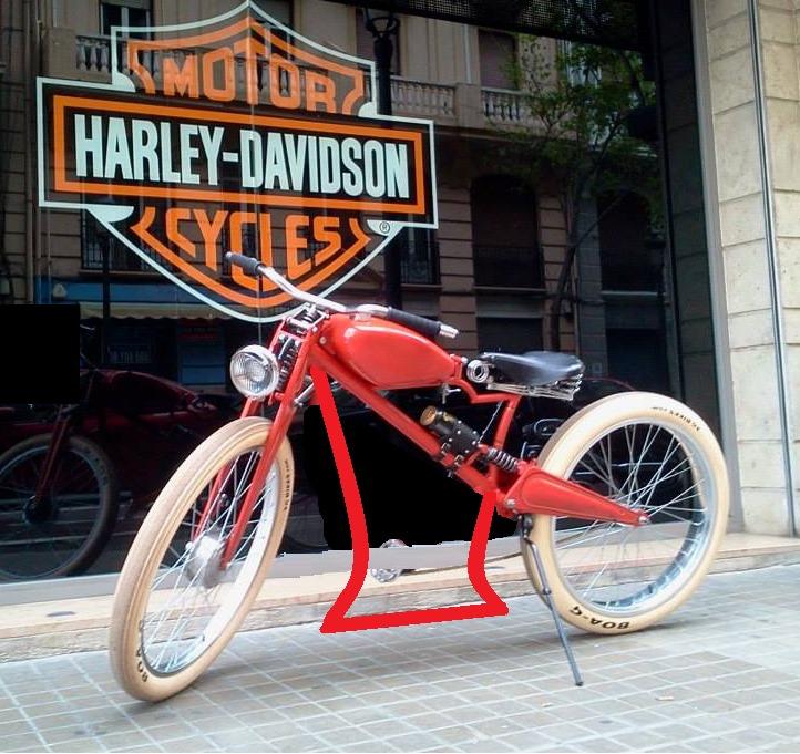 Bicicleta eléctrica a partir de moto Guzzi (+sidecar??) Ixsb49