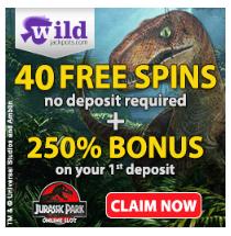Wild Jackpots Casino 40 Free spins no deposit bonus Ixuiy1