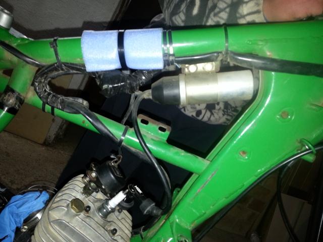 Mi nueva adquisición Rieju MR80 Verde Jpk704