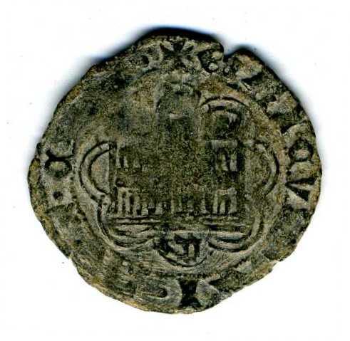 Cuarto de Enrique IV (1454-1474) ¿ceca? Libm0