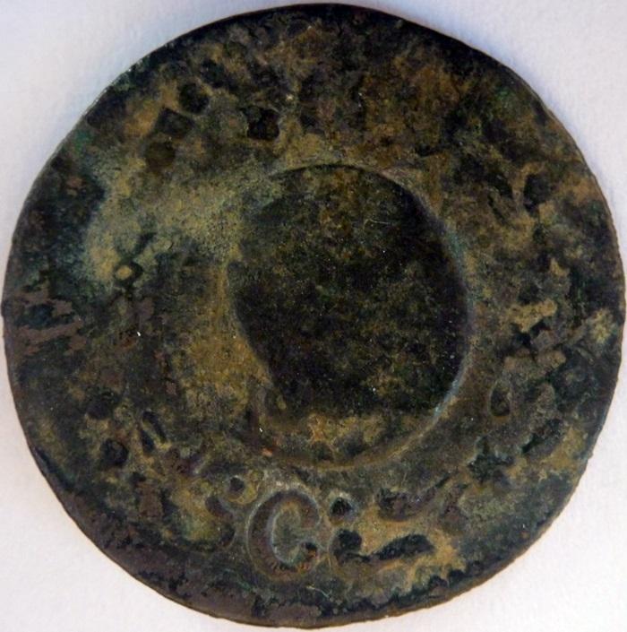 Ardite de Barcelona de 1709, Carlos III el Pret. Mm69mw