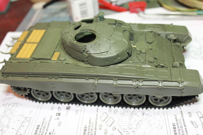 Т-90 с ТБС-86 (Менг 1/35) N4vz1t
