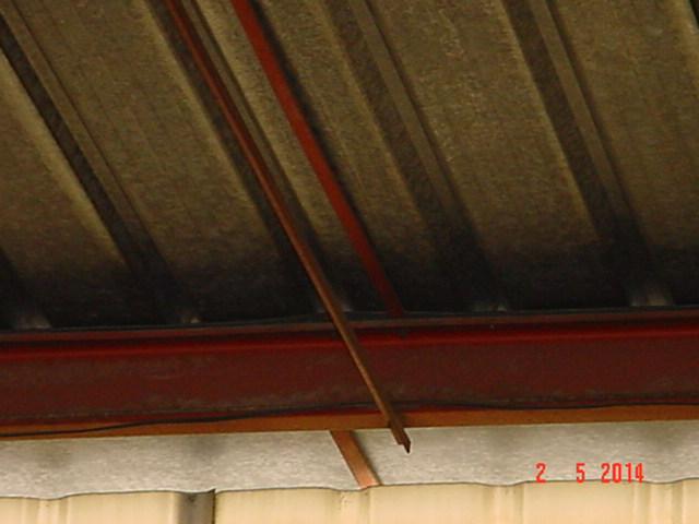 techo - Estructura de Perfiles C para techo de chapa Nck3er