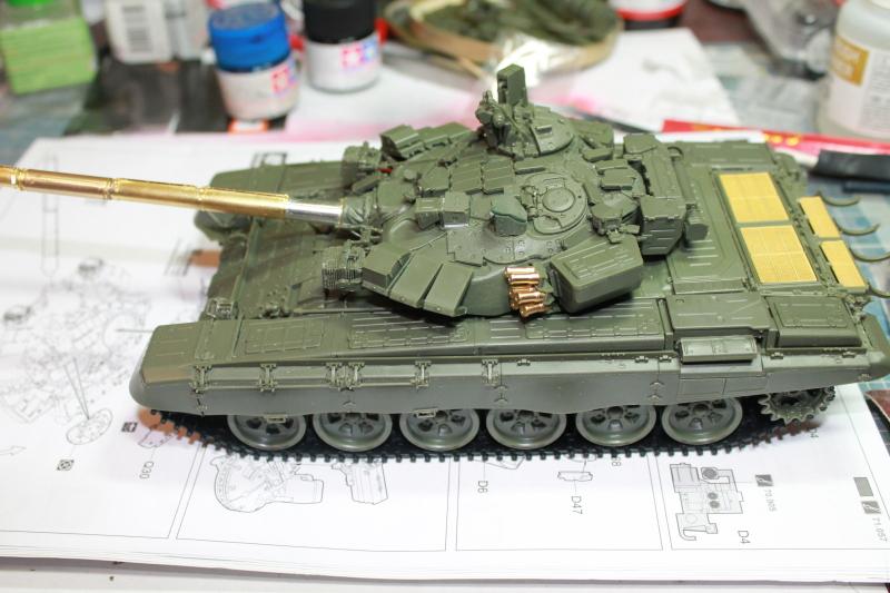 Т-90 с ТБС-86 (Менг 1/35) Ndlll0