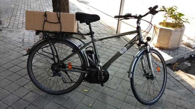 VENDO Bicicleta BH EMOTION CITY 700 con batería de 13,2 Amp recién estrenada O1suq