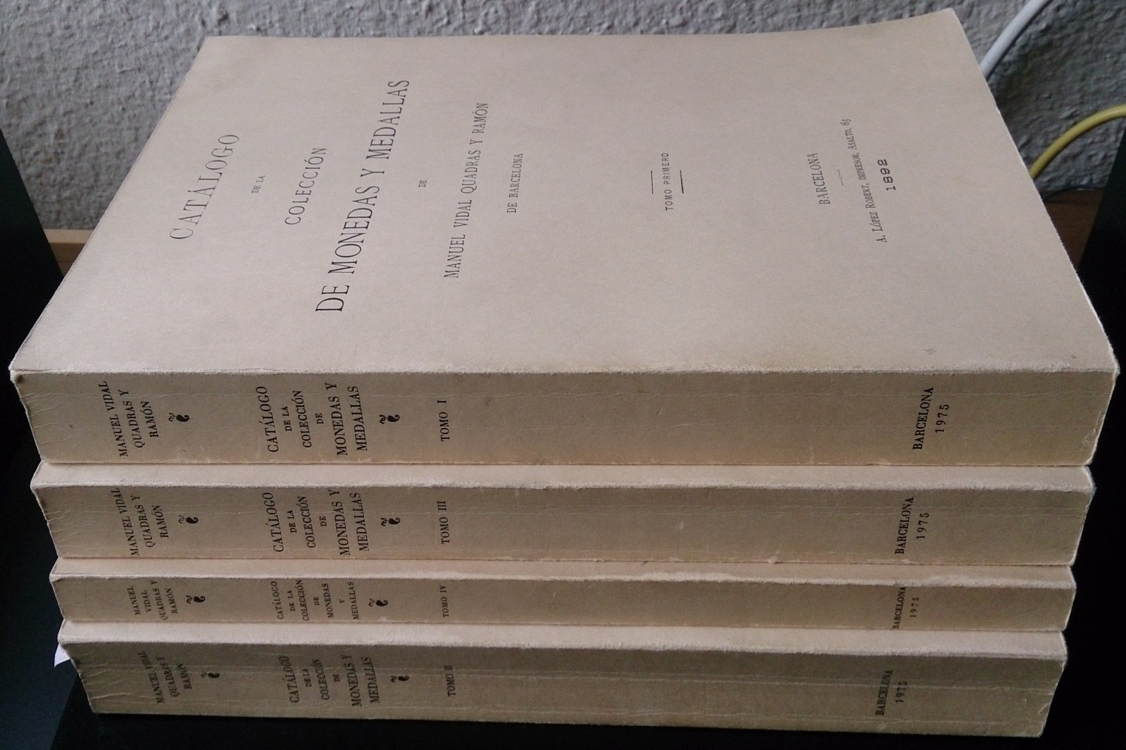 Libros sobre numismática Oadkar