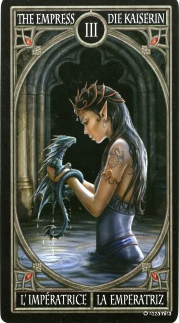 Готическое Таро Анны Стокс /Anne Stokes Gothic Tarot   (скан карт) Ou9p45
