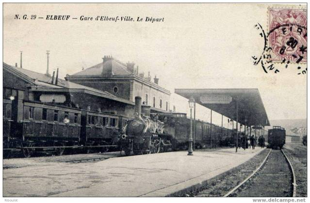 N - Gare d'Elbeuf ville (76) Rjnqzt
