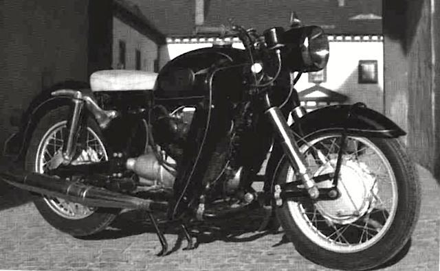 Motocicletas con motor Wankel Rjphsy
